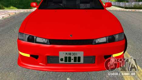 Nissan Silvia S14 Ks para GTA San Andreas vista traseira