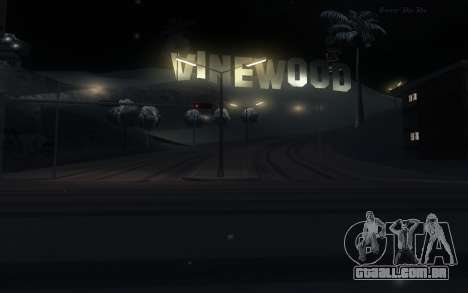 Snow Mod para GTA San Andreas terceira tela