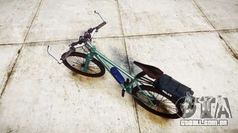 A polícia de bicicleta de montanha [ELS] para GTA 4 traseira esquerda vista