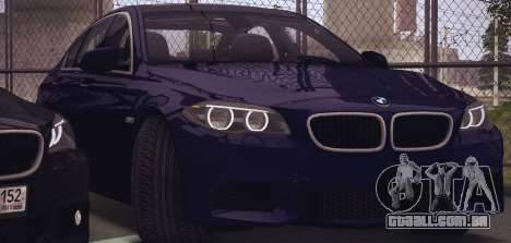BMW M550d 2014 para GTA San Andreas