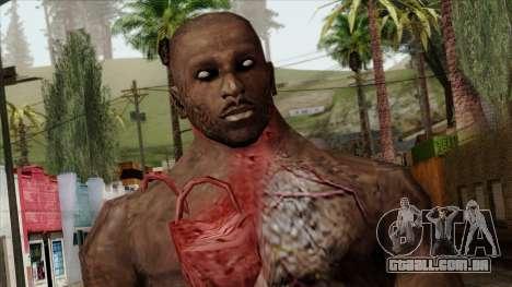 Resident Evil Skin 10 para GTA San Andreas terceira tela