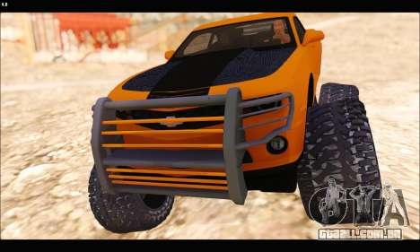 Chevrolet Camaro SUV Concept para GTA San Andreas esquerda vista