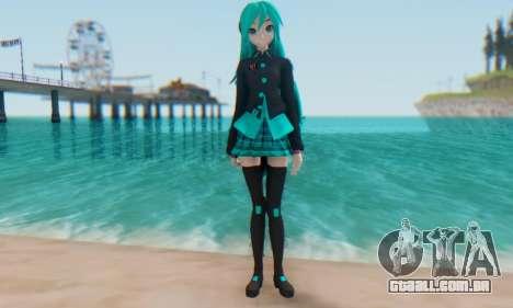 Miku Hatsune MMD para GTA San Andreas