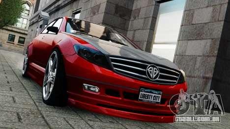 Schafter Gen. 2 Grey Series para GTA 4