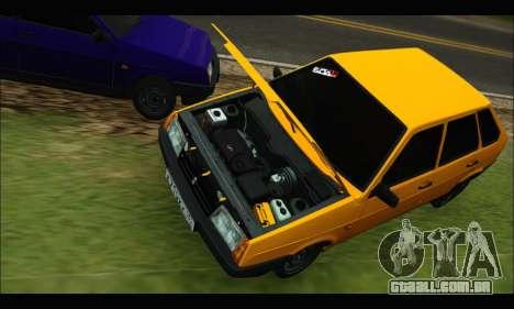 VAZ 2109 BPAN para GTA San Andreas esquerda vista