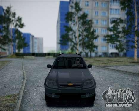 Chevrolet Niva para GTA San Andreas esquerda vista