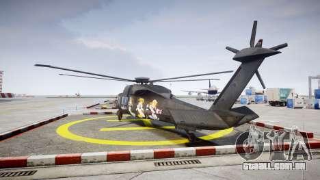 Sikorsky MH-X Silent Hawk [EPM] Printemps para GTA 4 traseira esquerda vista