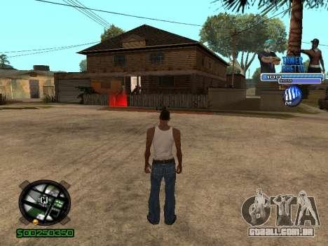 С-Hud Tawer-Gueto v1.6 Clássico para GTA San Andreas por diante tela