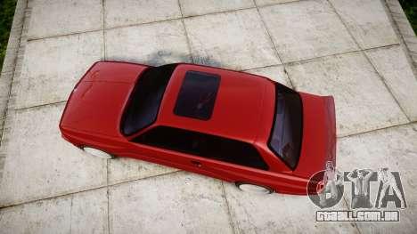 BMW E30 M3 para GTA 4 vista direita