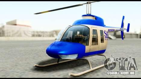 Beta News Maverick para GTA San Andreas