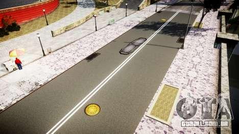 Textura estradas de alta definição 2014 v1.2 para GTA 4 quinto tela