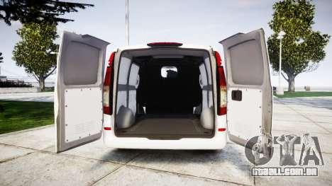 Mercedes-Benz Vito GIGN [ELS] para GTA 4 vista de volta