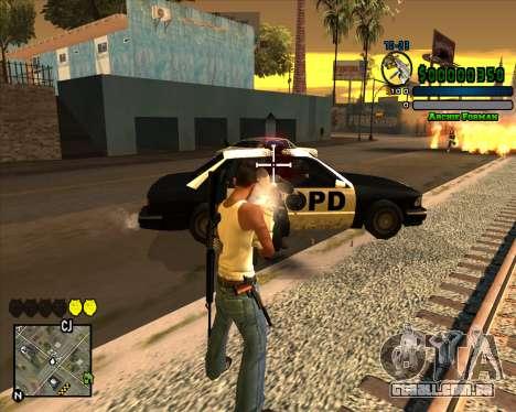 C-HUD Excellent para GTA San Andreas terceira tela