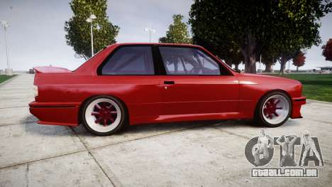 BMW E30 M3 para GTA 4 esquerda vista