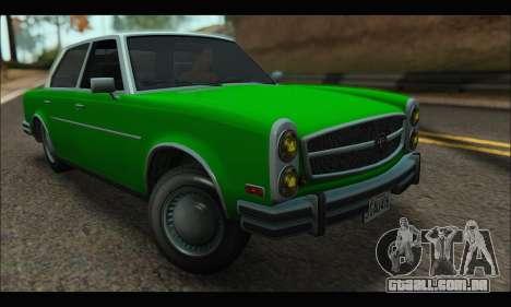 Benefactor Glendale (GTA V) para GTA San Andreas