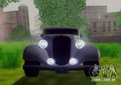 Hustler Limousine para GTA San Andreas vista traseira