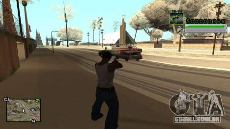 C-HUD v5.0 para GTA San Andreas terceira tela