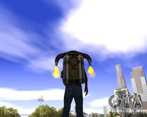 Realista céu (Sky Mod) para GTA San Andreas segunda tela