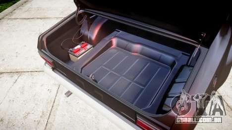Ford Escort Mk1 para GTA 4 vista interior
