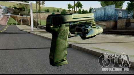 USP from Metal Gear Solid para GTA San Andreas segunda tela