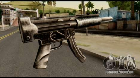 MP5 SD from Max Payne para GTA San Andreas