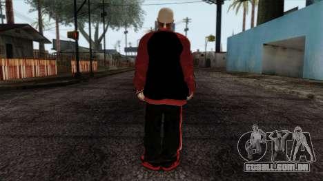 GTA 4 Skin 32 para GTA San Andreas segunda tela