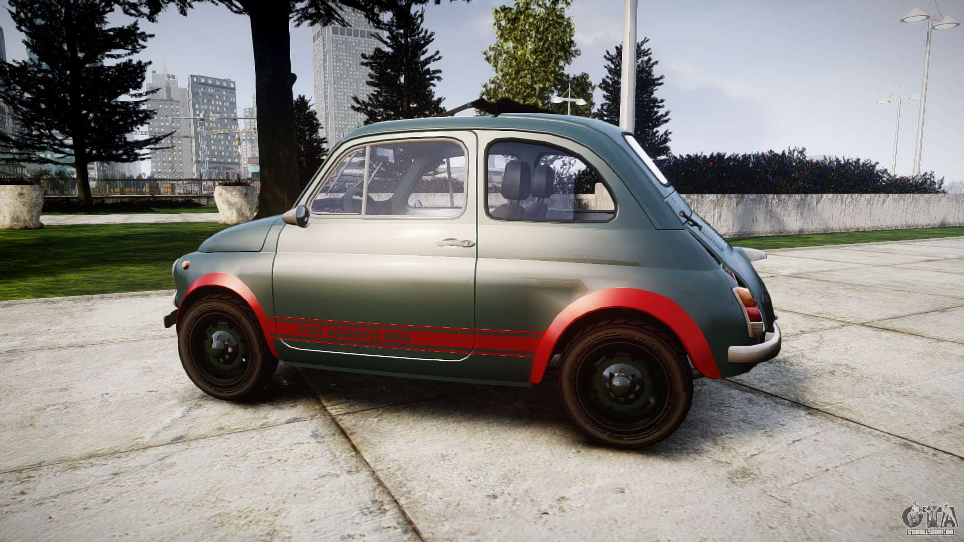 fiat 695 abarth ss assetto corse 1970 para gta 4. Black Bedroom Furniture Sets. Home Design Ideas