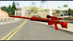 Sniper Rifle with Blood para GTA San Andreas