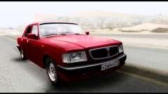 GAZ 3110 Volga limousine para GTA San Andreas