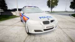 BMW 325d E91 2009 Metropolitan Police [ELS]