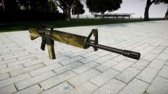 O M16A2 rifle flora