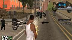 C-HUD Old Legend para GTA San Andreas