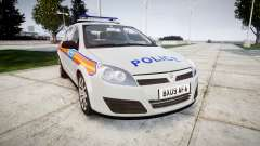 Vauxhall Astra 2009 Police [ELS] 911EP Galaxy