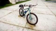 A polícia de bicicleta de montanha [ELS]