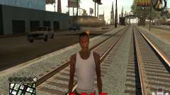 CLEO HUD New Year 2015 para GTA San Andreas