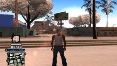 C-HUD Bench para GTA San Andreas