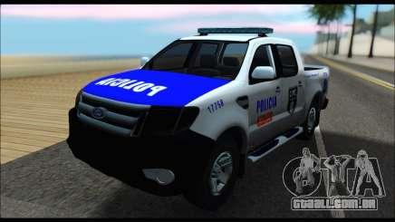 Ford Ranger P.B.A 2015 Text4 para GTA San Andreas