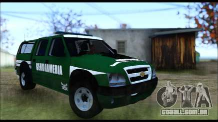 Chevrolet S-10 Gendarmeria para GTA San Andreas