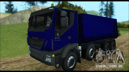 Iveco Trakker 2014 Tipper para GTA San Andreas
