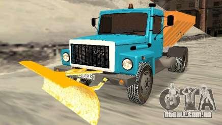 GAZ 3309 Neve para GTA San Andreas