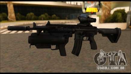 HK416 M320 Devgru para GTA San Andreas
