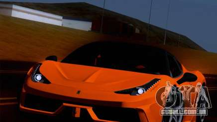 Ferrari 458 Special para GTA San Andreas