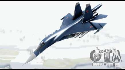 SU-34 Fullback PJ para GTA San Andreas