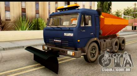 KamAZ 65115 Soprador De Neve para GTA San Andreas