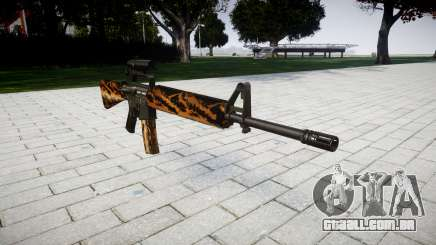 O M16A2 rifle [óptica] tigre para GTA 4