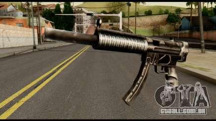 MP5 SD from Max Payne para GTA San Andreas