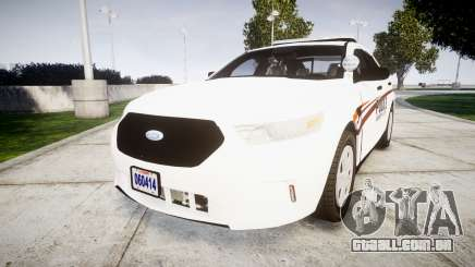 Ford Taurus 2014 Police Interceptor [ELS] para GTA 4