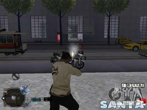 C-HUD Santa para GTA San Andreas