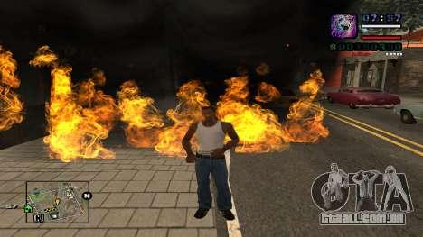 C-HUD Politra para GTA San Andreas segunda tela