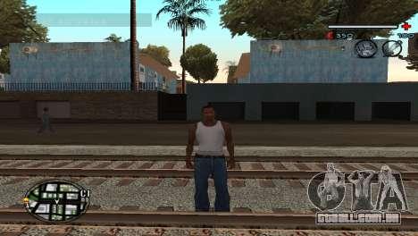 C-HUD Gray para GTA San Andreas segunda tela